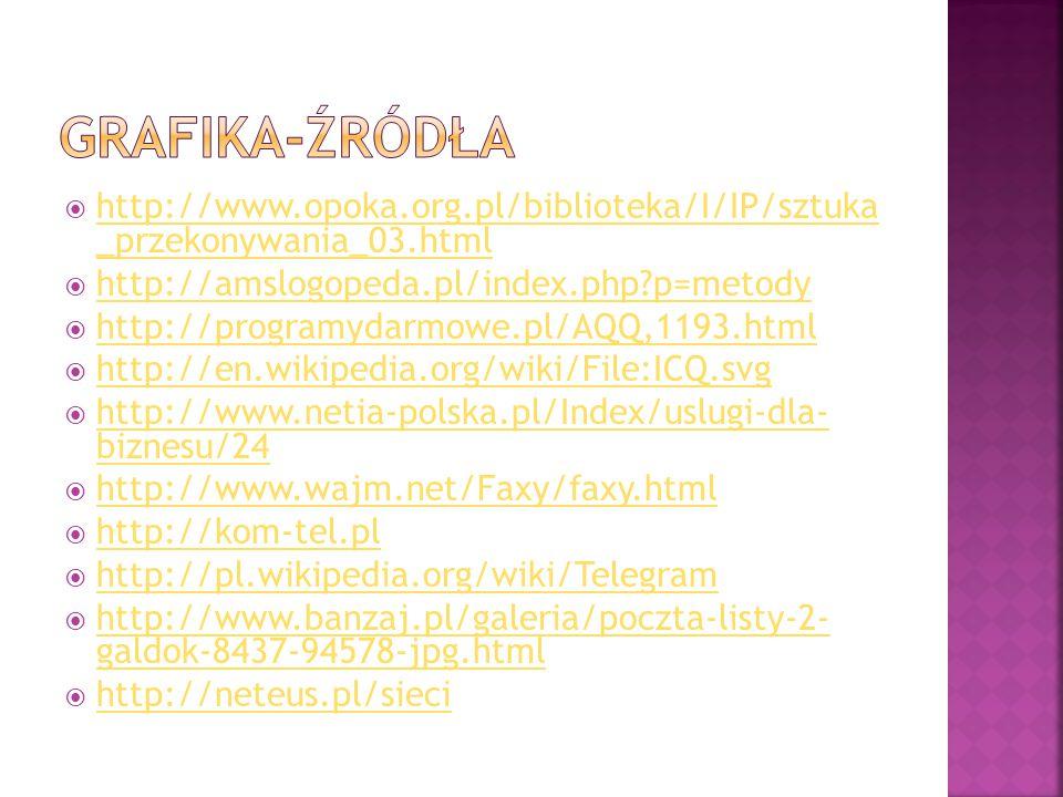  http://www.opoka.org.pl/biblioteka/I/IP/sztuka _przekonywania_03.html http://www.opoka.org.pl/biblioteka/I/IP/sztuka _przekonywania_03.html  http:/