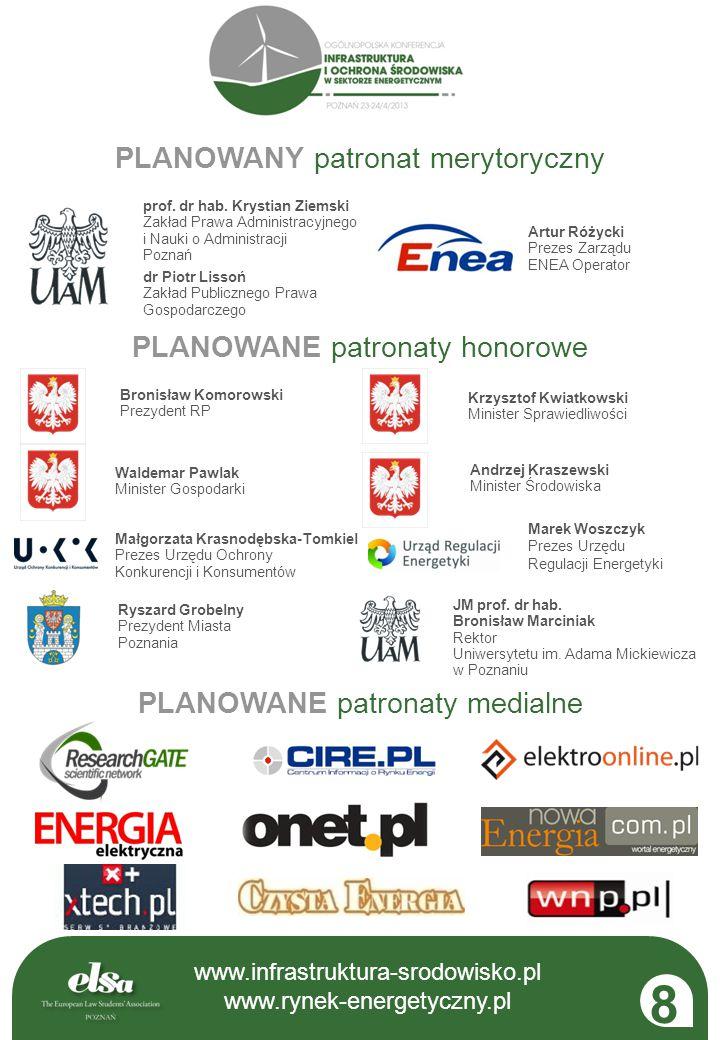 www.infrastruktura-srodowisko.pl www.rynek-energetyczny.pl FORUM WYMIANY OPINII SZEROKI KRĄG ODBIORCÓW KONTYNUACJA MERYTORYKI EDYCJI 2012 PRZESTRZEŃ DLA EKSPERTÓW, PARTNERÓW I STUDENTÓW www.infrastruktura-srodowisko.pl www.rynek-energetyczny.pl 9 Rynek-energetyczny.pl prawo | ekonomia | technologia Interaktywny portal opinii.