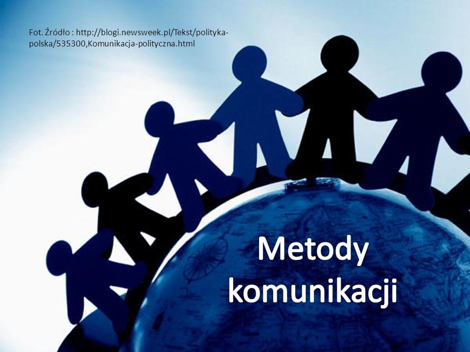 Fot. Źródło : http://blogi.newsweek.pl/Tekst/polityka- polska/535300,Komunikacja-polityczna.html
