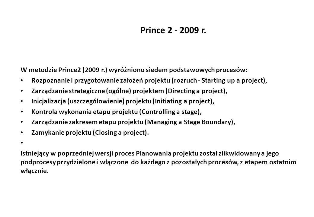 Prince 2 - 2009 r.