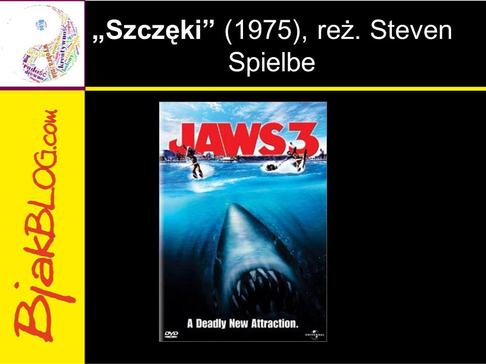 """""""Szczęki"""" (1975), reż. Steven Spielbe"""