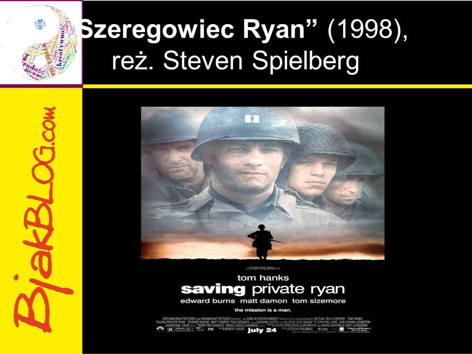 """Szeregowiec Ryan"" (1998), reż. Steven Spielberg"