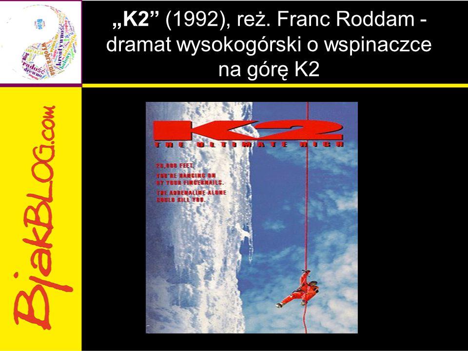 """""""K2"""" (1992), reż. Franc Roddam - dramat wysokogórski o wspinaczce na górę K2"""