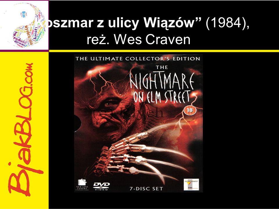 """""""Koszmar z ulicy Wiązów"""" (1984), reż. Wes Craven"""