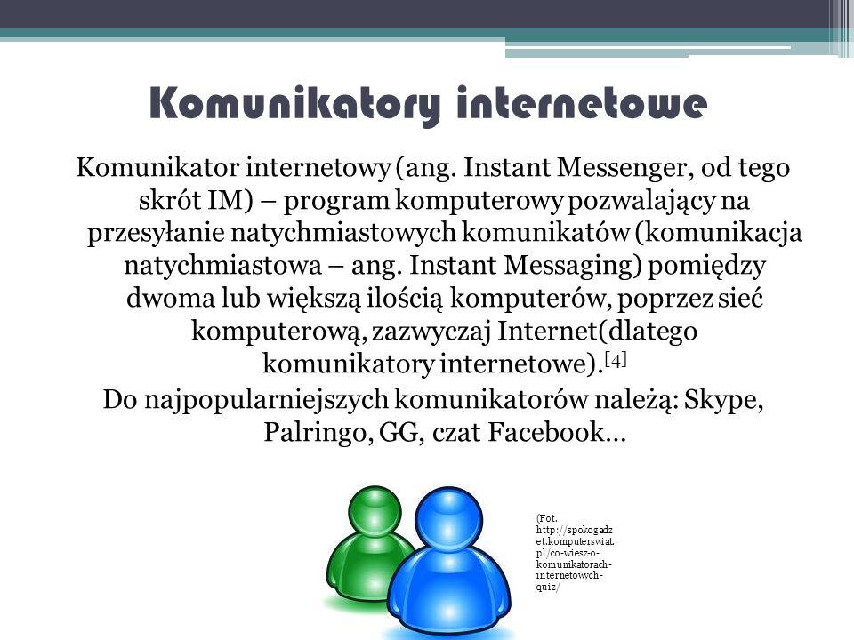 Znane w Polsce portale społecznościowe (Fot.