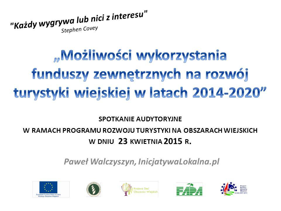 Paweł Walczyszyn, InicjatywaLokalna.pl