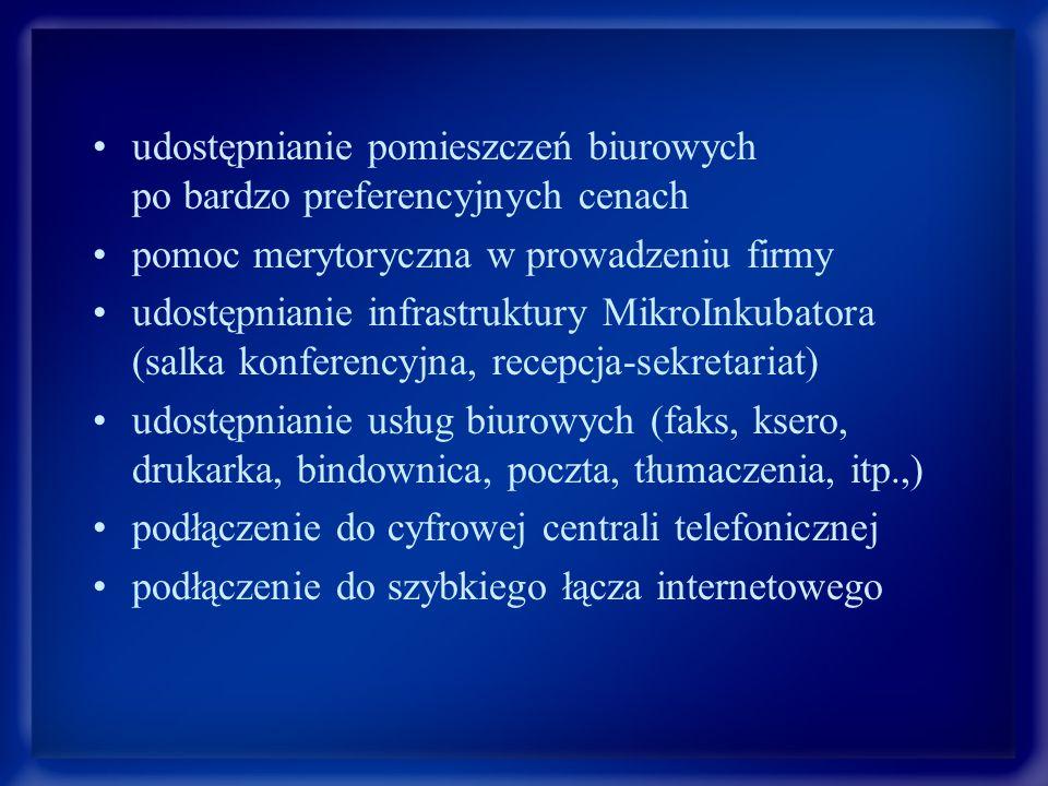 Inkubator Przedsiębiorczości Agencji Wspierania Przedsiębiorczości w Starogardzie Gdańskim www.starogardbiznes.pl