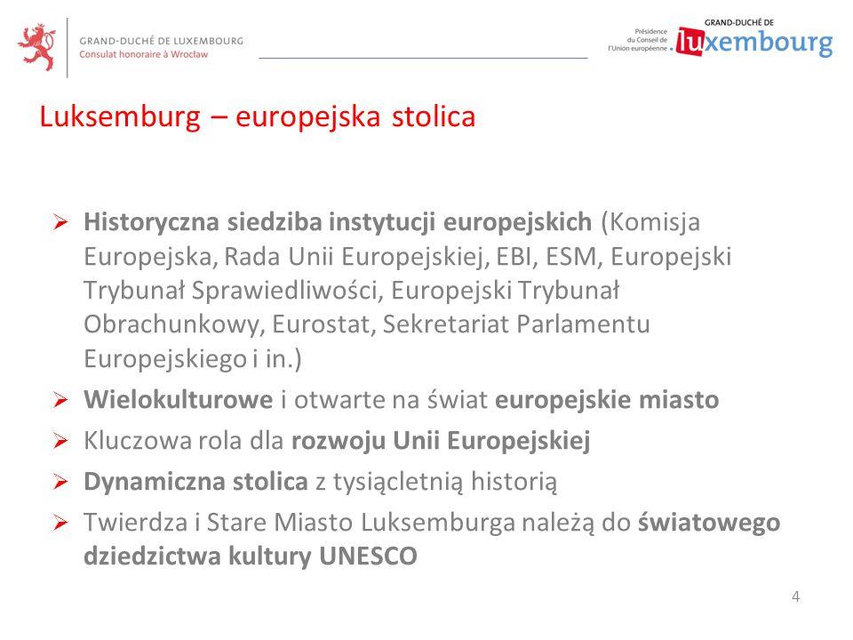  Historyczna siedziba instytucji europejskich (Komisja Europejska, Rada Unii Europejskiej, EBI, ESM, Europejski Trybunał Sprawiedliwości, Europejski