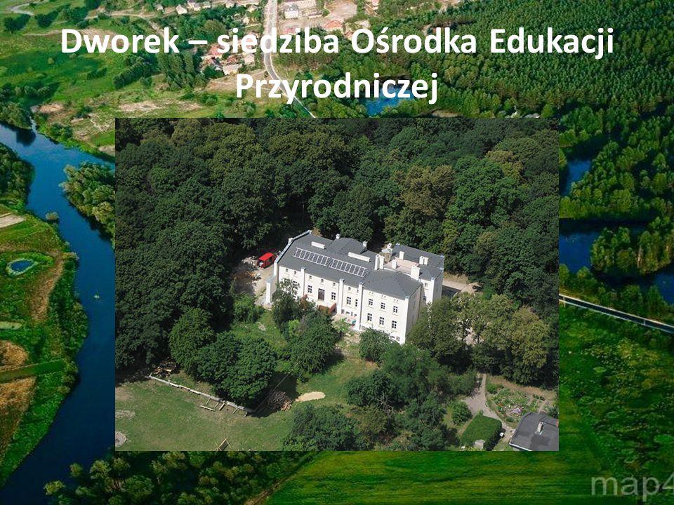 Dworek – siedziba Ośrodka Edukacji Przyrodniczej