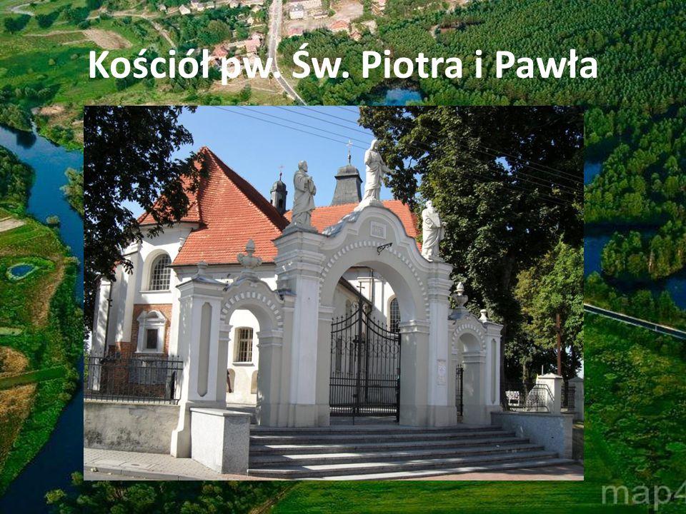 Pałac biskupi, rokokowy wzniesiony w latach 1760-68 dla biskupa Teodora Czartoryskiego.