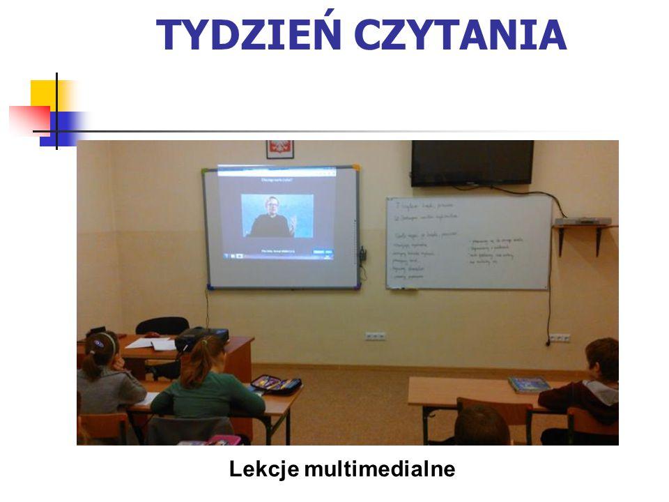 TYDZIEŃ CZYTANIA Lekcje multimedialne