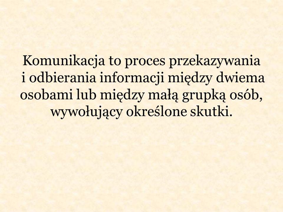 Rodzaje Komunikacji Komunikacja werbalna-porozumiewanie się za pomocą mowy.