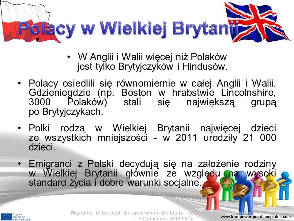W Anglii i Walii więcej niż Polaków jest tylko Brytyjczyków i Hindusów.
