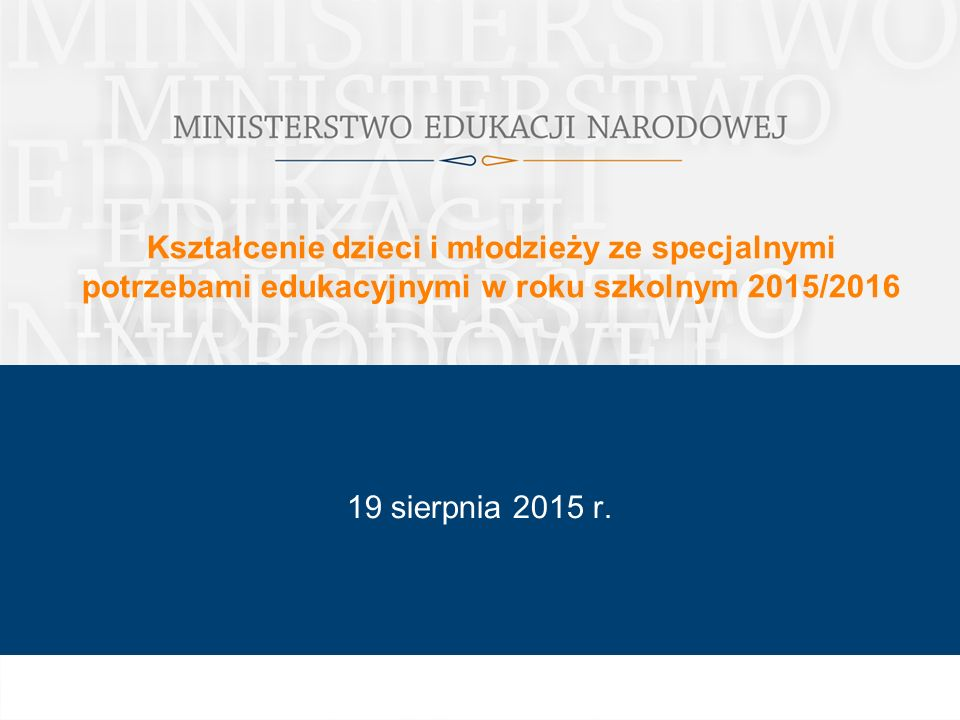 Regulacje prawne – ustawa z dnia 20 lutego 2015 r.
