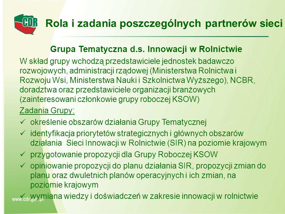 Grupa Tematyczna d.s.