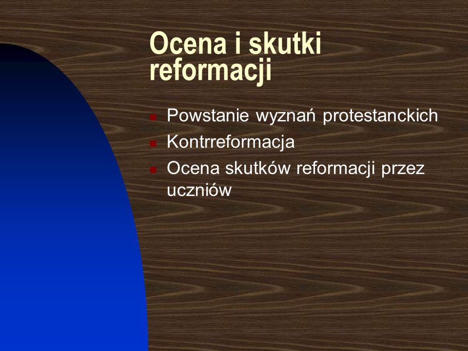 Kwestia reformacji w państwach europejskich w XVI w. Wojny w Europie w XVI w. Tolerancja w niektórych państwach europejskich Mapa Europy w XVI w. Poka