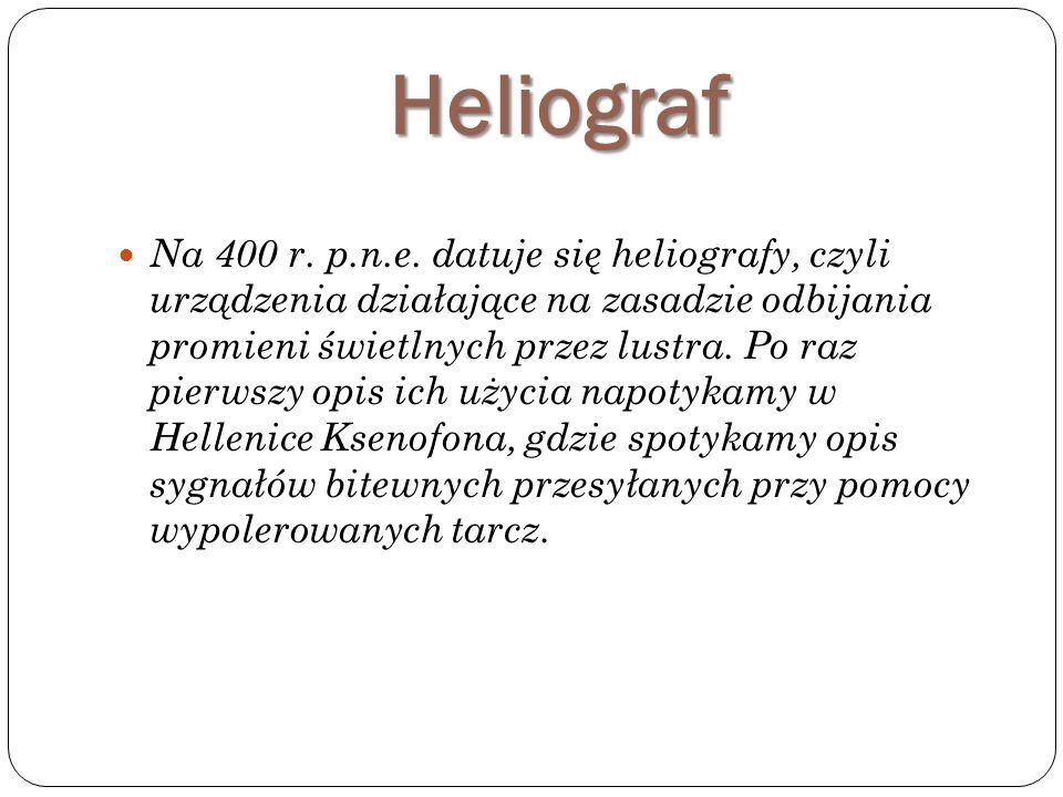 Heliograf Na 400 r.p.n.e.
