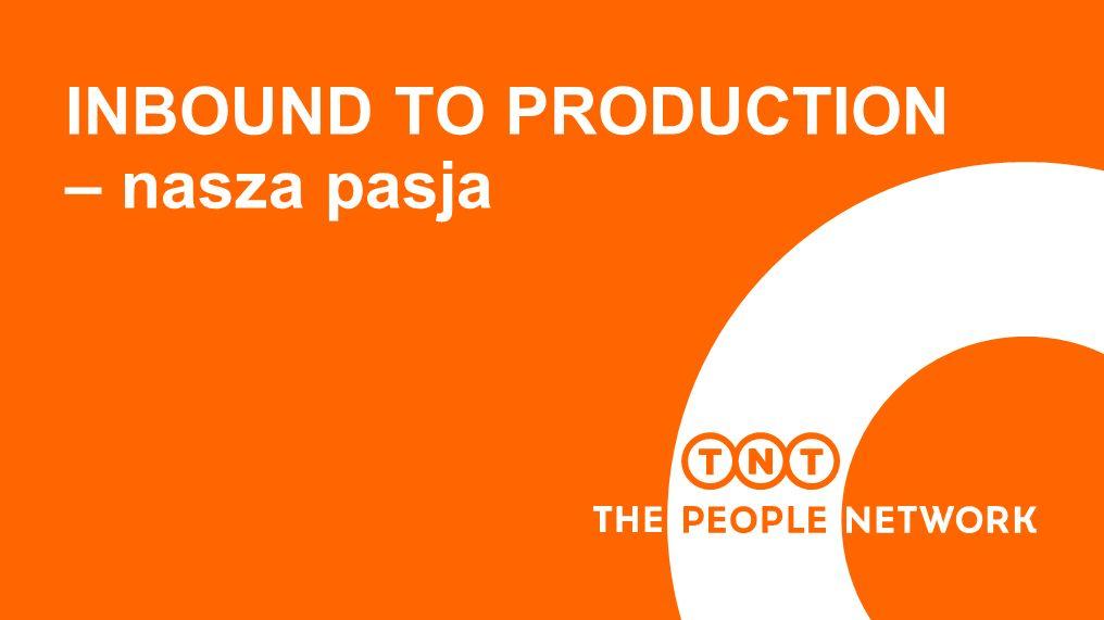 INBOUND TO PRODUCTION – nasza pasja