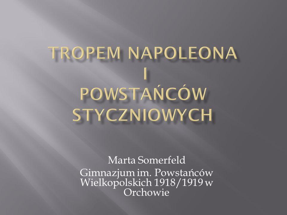Marta Somerfeld Gimnazjum im. Powstańców Wielkopolskich 1918/1919 w Orchowie