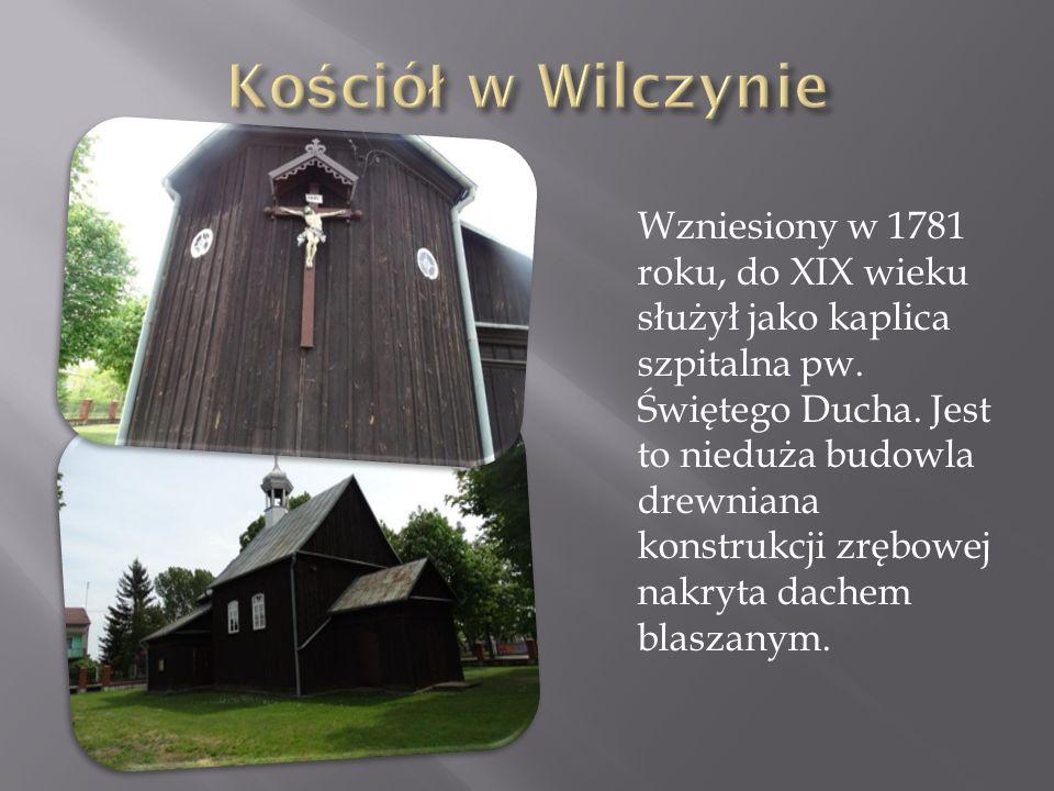 Wzniesiony w 1781 roku, do XIX wieku służył jako kaplica szpitalna pw. Świętego Ducha. Jest to nieduża budowla drewniana konstrukcji zrębowej nakryta