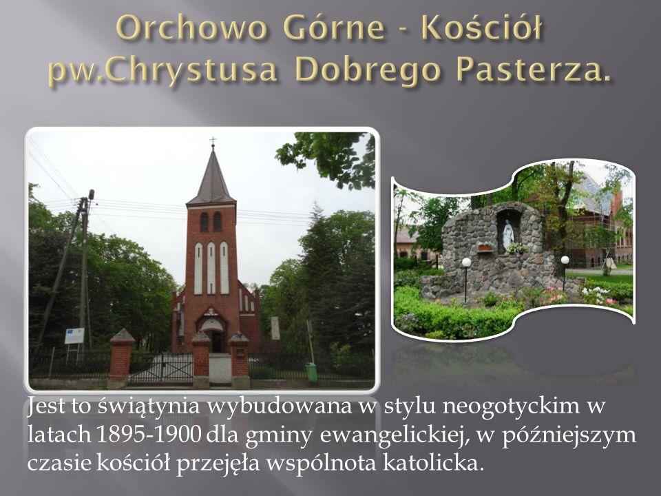 Jest to świątynia wybudowana w stylu neogotyckim w latach 1895-1900 dla gminy ewangelickiej, w późniejszym czasie kościół przejęła wspólnota katolicka