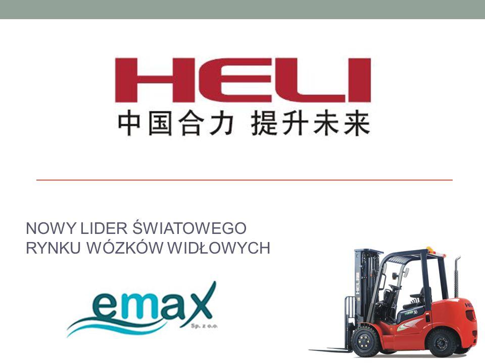 CZYM JEST HELI.To największa w Chinach fabryka wózków widłowych.