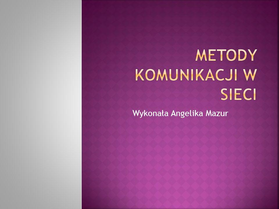 Wykonała Angelika Mazur