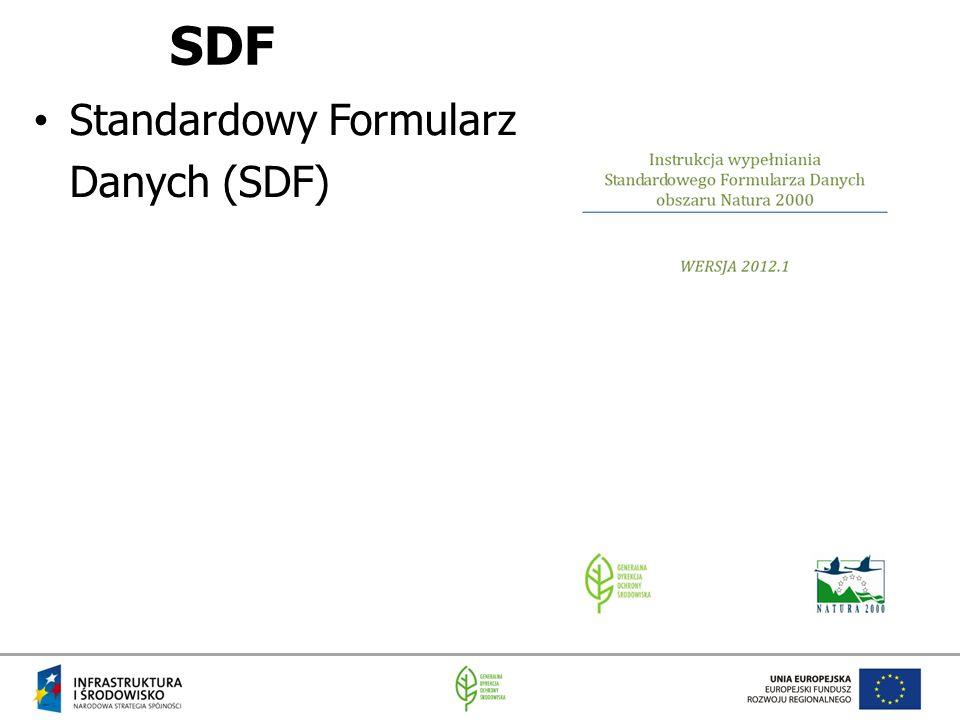 SDF Standardowy Formularz Danych (SDF)