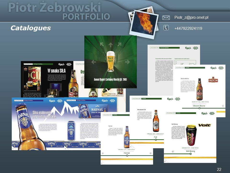 Piotr_z@pro.onet.pl +447922924119 22 Catalogues
