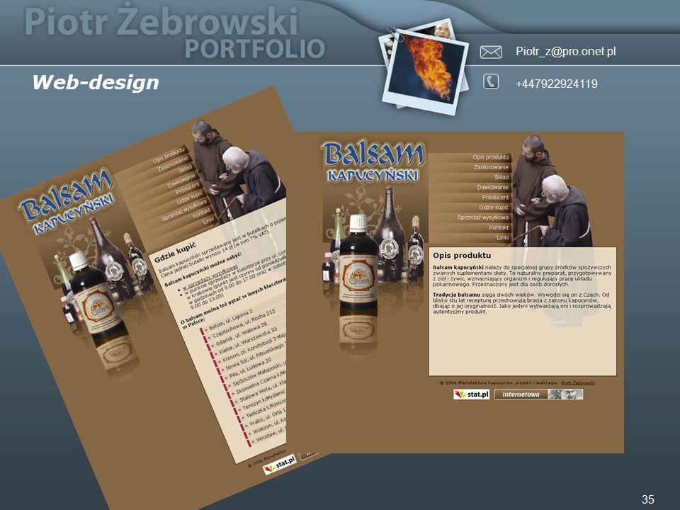 Piotr_z@pro.onet.pl +447922924119 35 Web-design