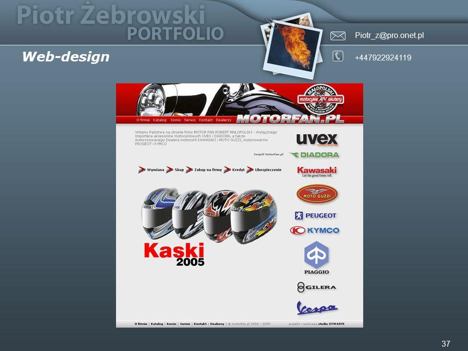 Piotr_z@pro.onet.pl +447922924119 37 Web-design
