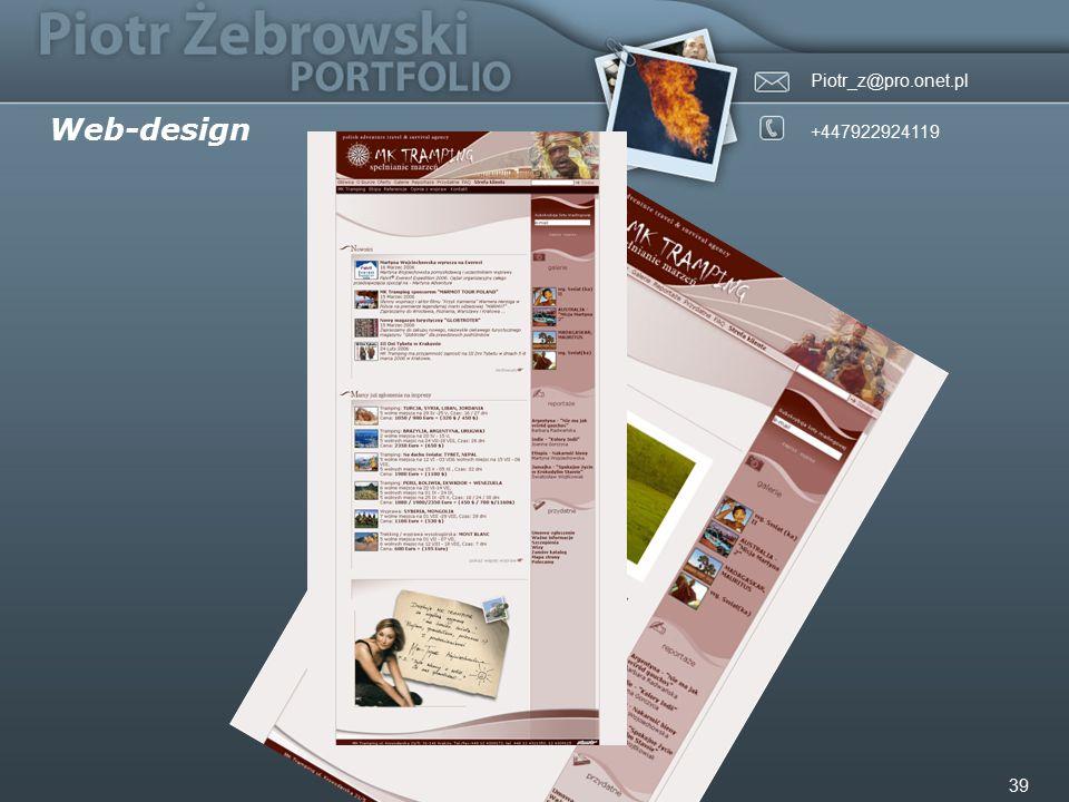 Piotr_z@pro.onet.pl +447922924119 39 Web-design