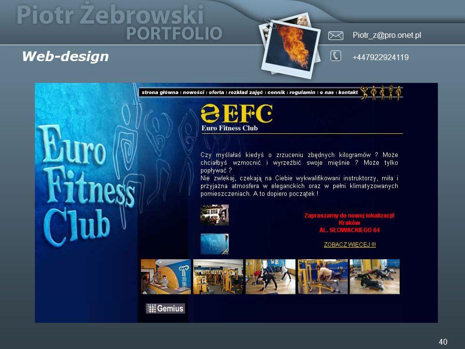 Piotr_z@pro.onet.pl +447922924119 40 Web-design