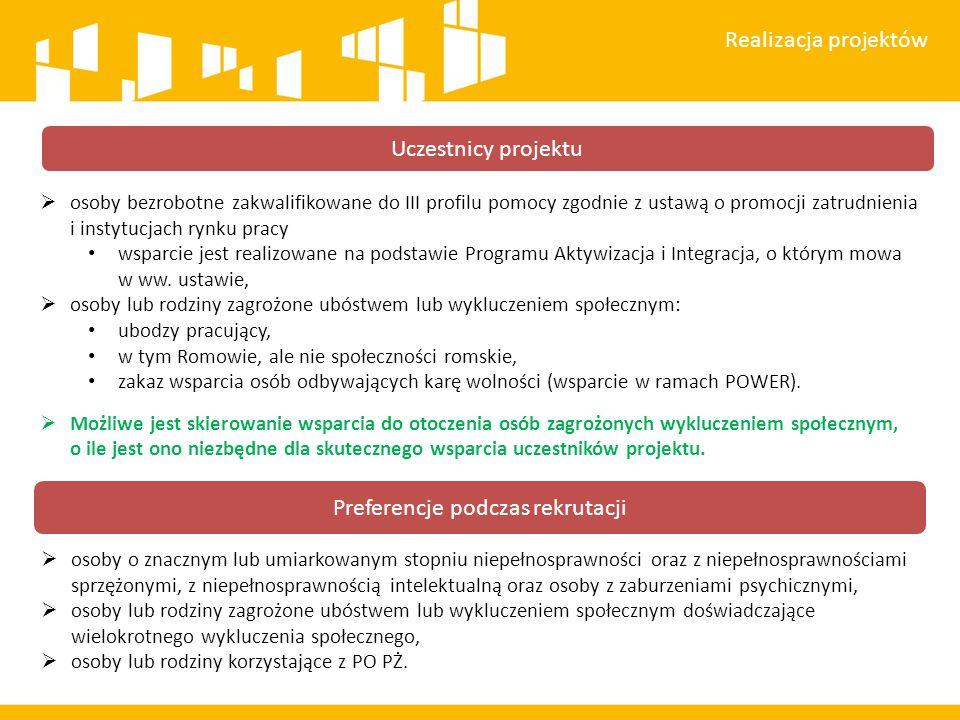  osoby bezrobotne zakwalifikowane do III profilu pomocy zgodnie z ustawą o promocji zatrudnienia i instytucjach rynku pracy wsparcie jest realizowane