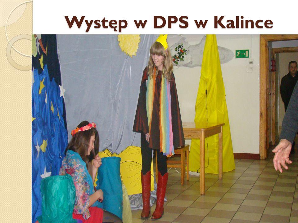 Występ w DPS w Kalince