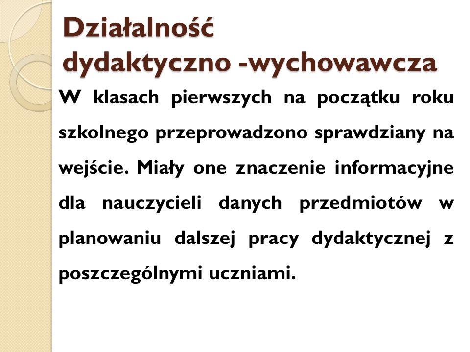 PRÓBNE EGZAMINY 9-11.12.2014 r.