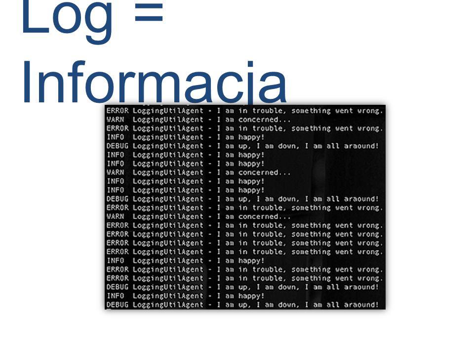 Log = Informacja