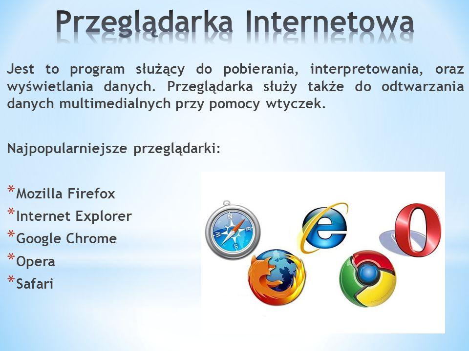 Jest to strona lub program pozwalający na wyszukiwanie przez użytkownika dowolnej informacji.