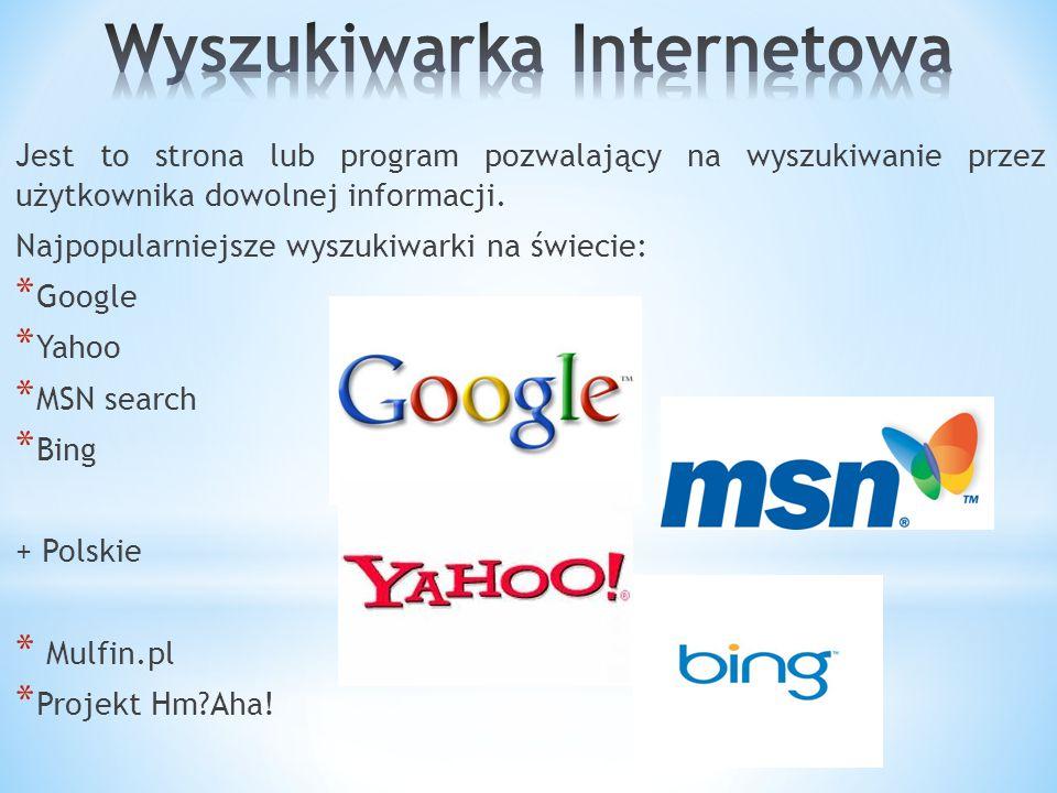 Oprogramowanie dzielimy na: * Oprogramowanie systemowe: system operacyjny, który pozwala na wykorzystywanie komponentów znajdujących się w jednostce centralnej, najpopularniejsze oprogramowanie systemowe to Windows®, Linux® oraz MAC OS®.