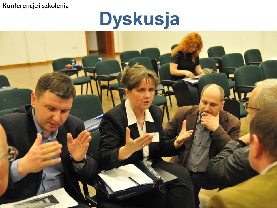 Dyskusja Konferencje i szkolenia