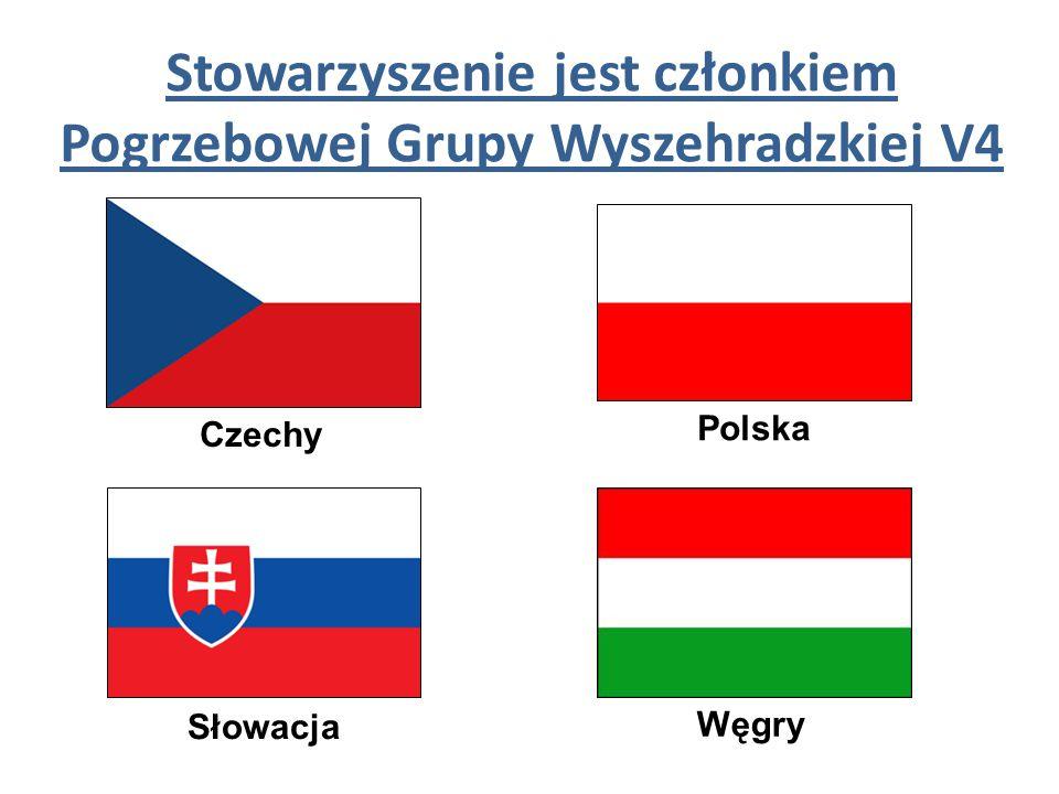 Stowarzyszenie jest członkiem Pogrzebowej Grupy Wyszehradzkiej V4 Czechy Polska Słowacja Węgry