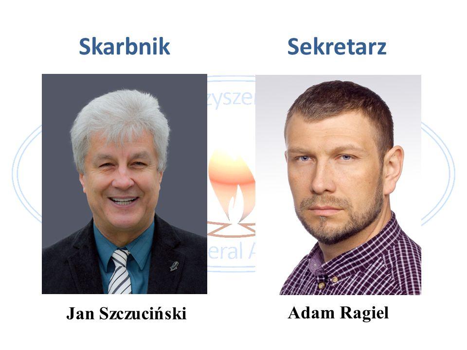 Skarbnik Sekretarz Jan Szczuciński Adam Ragiel