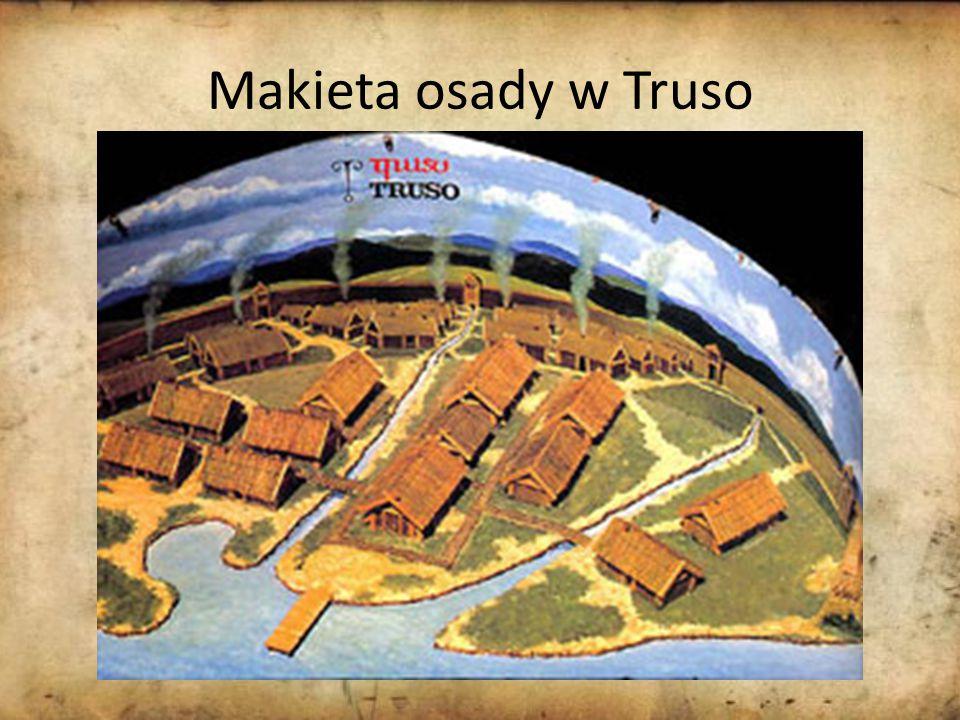 Makieta osady w Truso