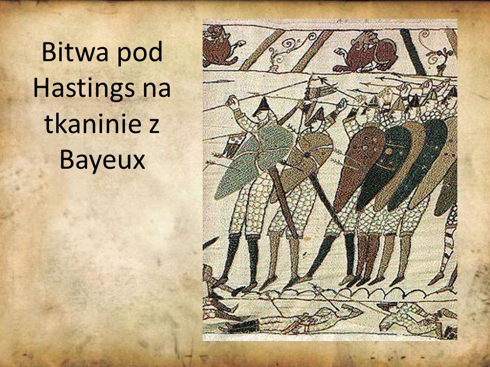 Bitwa pod Hastings na tkaninie z Bayeux
