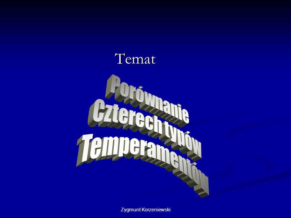 Zygmunt Korzeniewski Temat