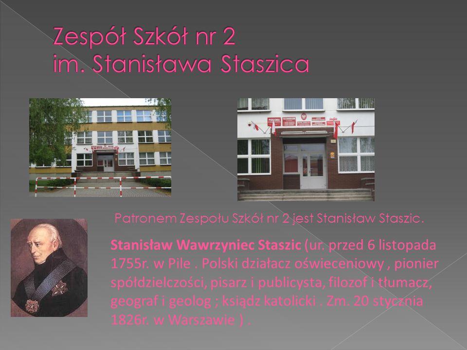 Stanisław Wawrzyniec Staszic (ur. przed 6 listopada 1755r. w Pile. Polski działacz oświeceniowy, pionier spółdzielczości, pisarz i publicysta, filozof