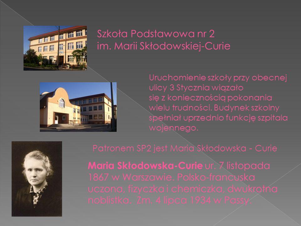 Maria Skłodowska-Curie ur. 7 listopada 1867 w Warszawie. Polsko-francuska uczona, fizyczka i chemiczka, dwukrotna noblistka. Zm. 4 lipca 1934 w Passy.