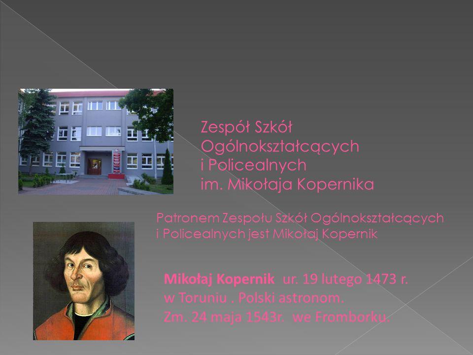 Mikołaj Kopernik ur.19 lutego 1473 r. w Toruniu. Polski astronom.