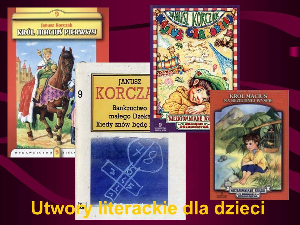 Utwory literackie dla dzieci