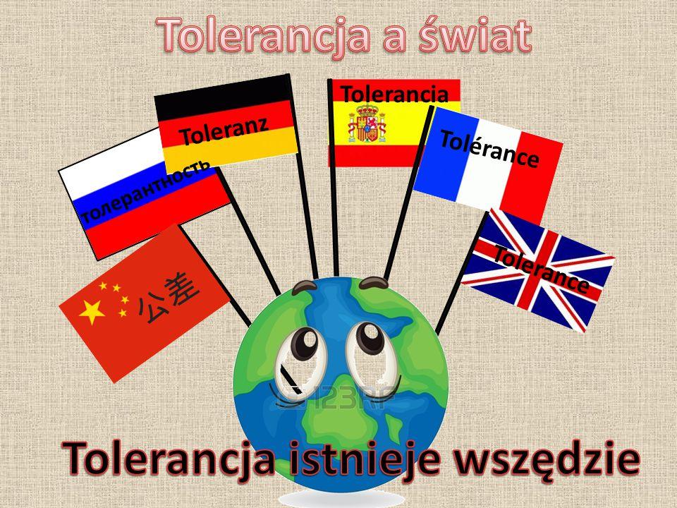Wzajemna tolerancja jest niezbędna.Nie jest to niestety takie oczywiste.